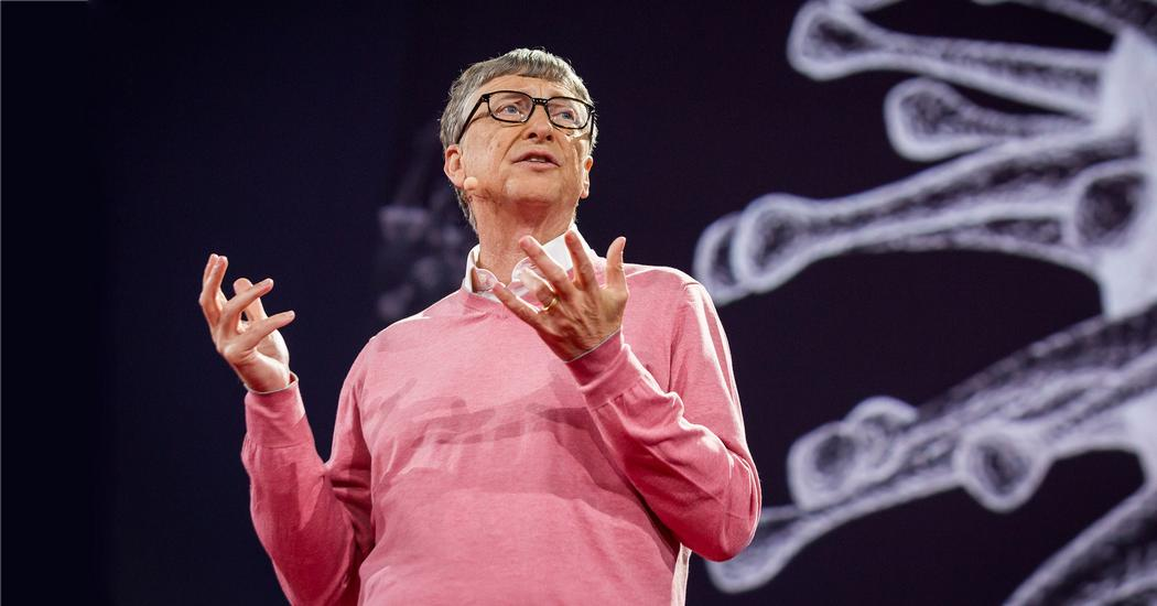 """""""We are not prepared for the next epidemic"""" Bill Gates, during a 2015 Ted talk"""